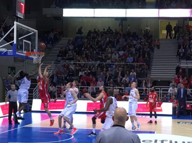 Liège Basket battu de peu par Spirou Charleroi