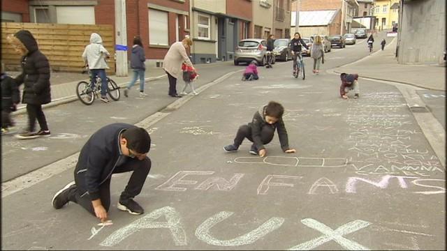 """Liège teste le concept de """"rue apaisée"""""""