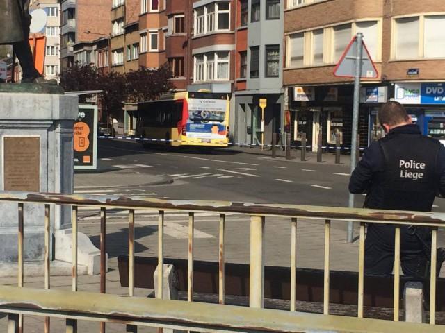 Colis suspect découvert à Liège: un individu interpellé