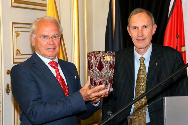 Le Prix Notger à Gerard Blaise