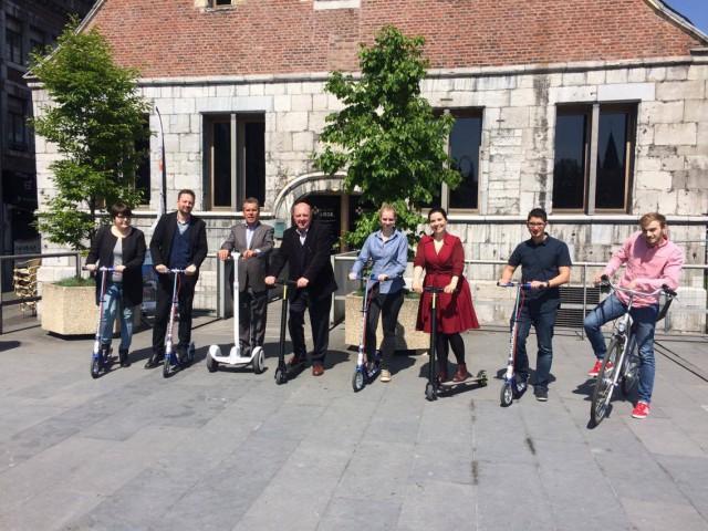 Trottinettes et Segways à louer pour découvrir Liège
