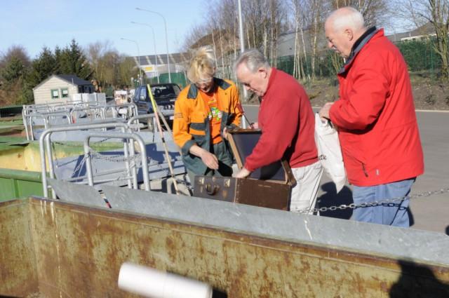 Les recyparcs accessibles aux commerçants et indépendants