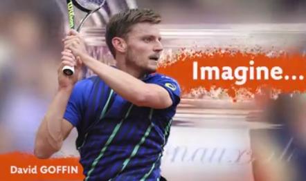 David Goffin gagne Roland Garros !