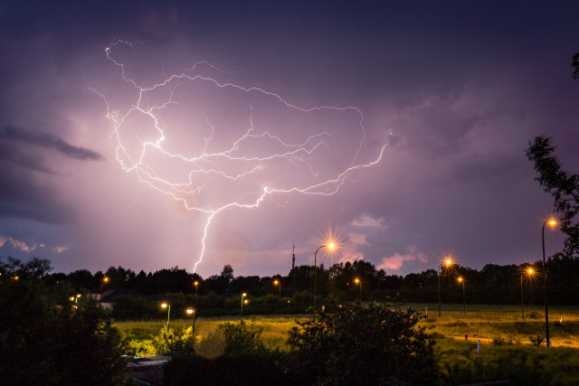Soleil et puis orages potentiellement violents et photogéniques