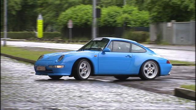 Huy : une balade en Porsche pour aider des enfants