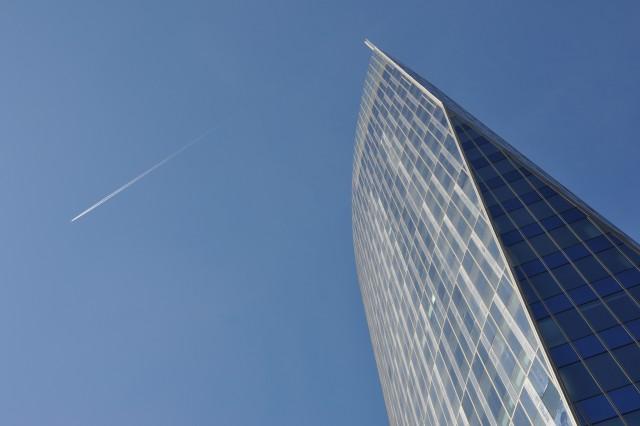 Arrêt de travail à la Tour des finances à Liège