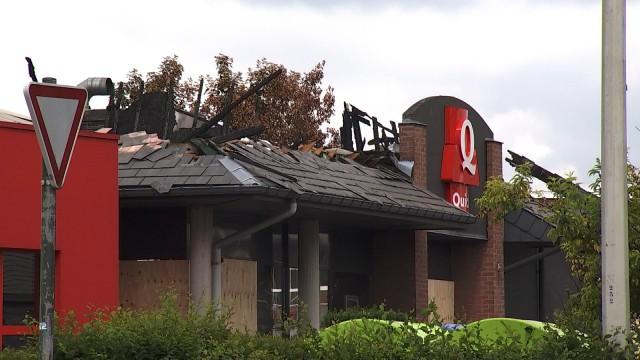 Incendie de Fléron : une perte aussi pour les autres commerçants