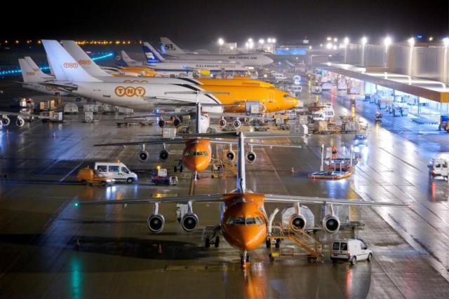 Des vols TNT assurés cette nuit à l'aéroport de Liège