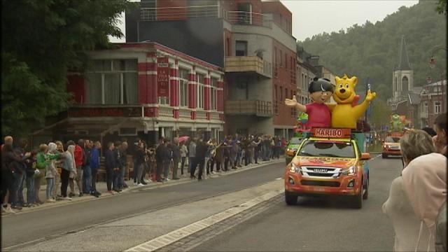 Une journée sur le Tour de France, à Chaudfontaine