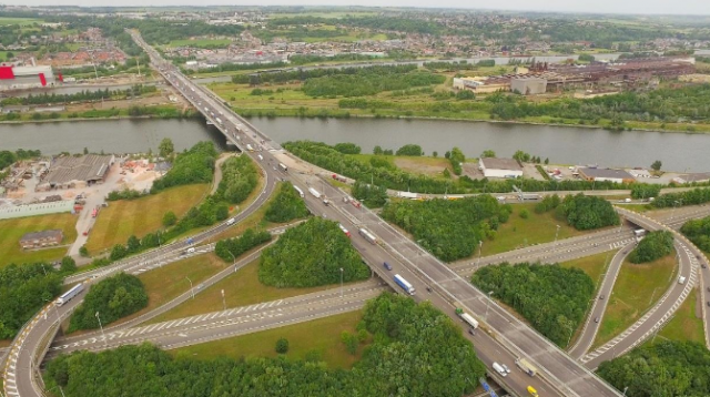 Herstal : après 10 ans de fermeture, on peut à nouveau accéder directement à la E40 vers Aix-la-Chapelle