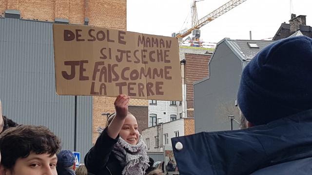 15.000 participants à la marche des jeunes Liégeois pour le climat