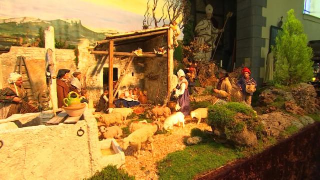 Liège : 150 crèches exposées à l'Eglise Saint-Remacle