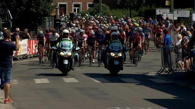 Le tour cycliste de la province de Liège, 3ème étape