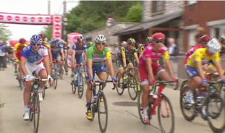 Tour de Wallonie : deuxième étape entre Chaudfontaine et Seraing