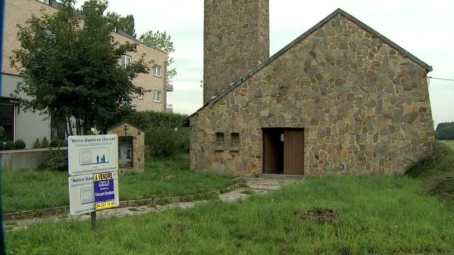 """Boncelles : La """"chapelle des disparus de la route"""" à vendre"""