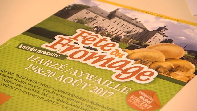 La 38ème édition fête du fromage au château de Harzé