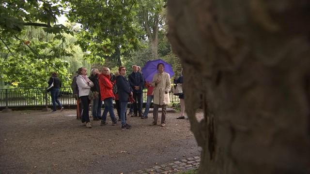 Visite du Jardin Botanique à Liège