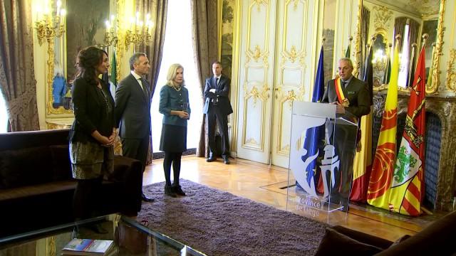 L'ambassadeur d'Italie en visite dans la région liégeoise