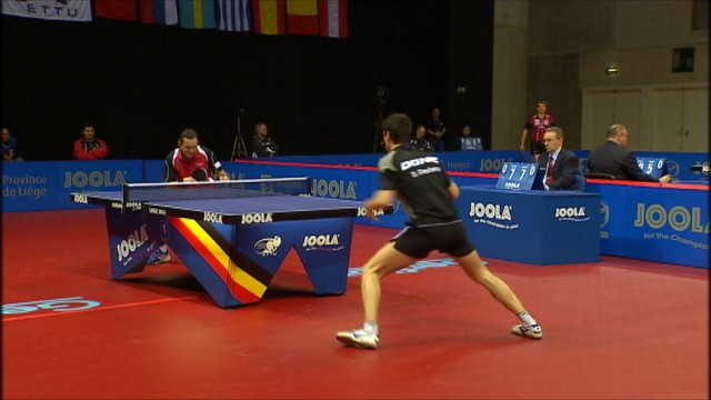 Coupe du monde de tennis de table à Liège