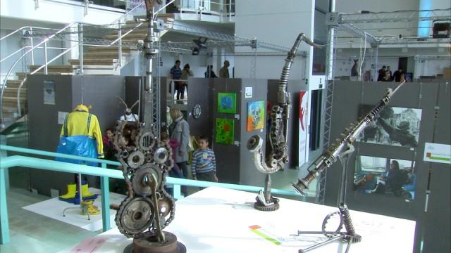 Pan'Art : des oeuvres surprenantes à voir à la Cité Miroir