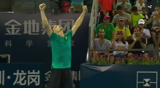 David Goffin remporte le tournoi de Shenzhen !