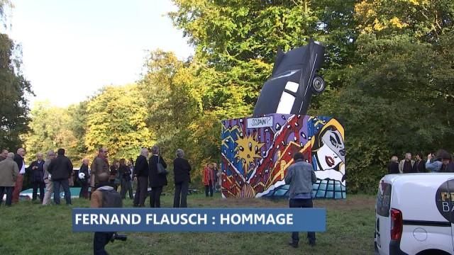 Triple hommage à l'artiste liégeois Fernand Flausch