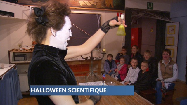 La Maison de la Science se met aux couleurs d'Halloween