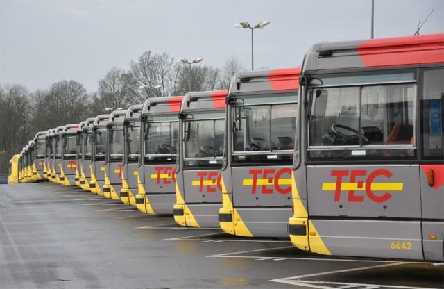 Perturbations au TEC Liège-Verviers : un bus sur deux est sorti