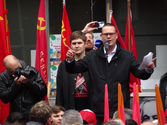 L'agresseur de Raoul Hedebouw condamné à 28 mois de prison