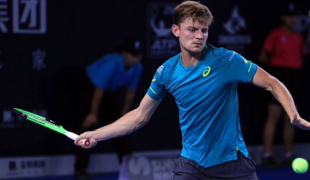 David Goffin bat Rafael Nadal à Londres !
