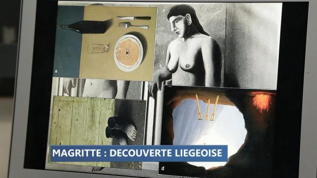 """""""La pose enchantée"""" de Magritte reconstituée grâce à des Liégeois"""
