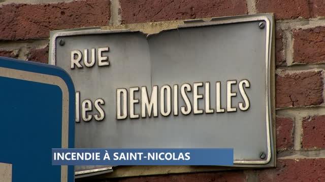 Incendie et explosion dans une maison à Saint-Nicolas
