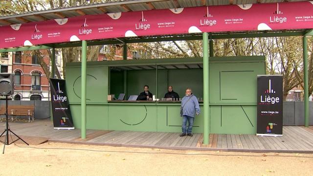 Liège : début de la nouvelle vie de la Place de l'Yser