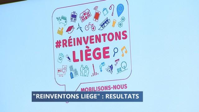 Réinventons Liège : 77 actions prioritaires ont été dégagées