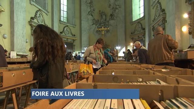La foire aux livres du Kiwani Liège