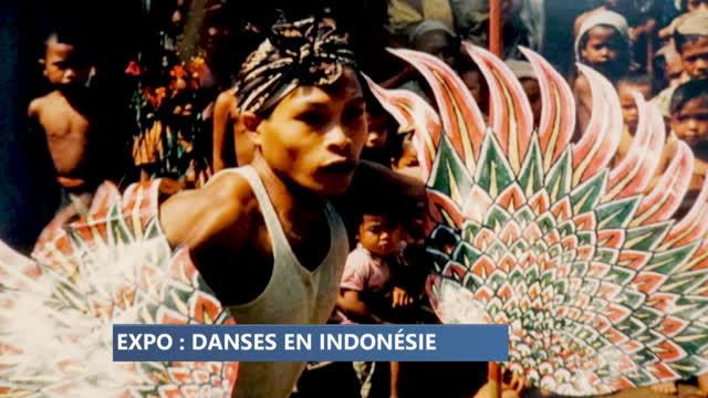 Une exposition inédite de photos de danse indonésienne