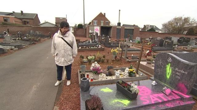 28 tombes vandalisées à Cheratte