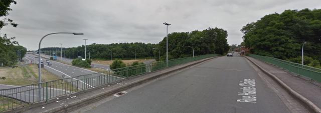 Grâce-Hollogne : démolition d'un pont et fermeture de l'autoroute