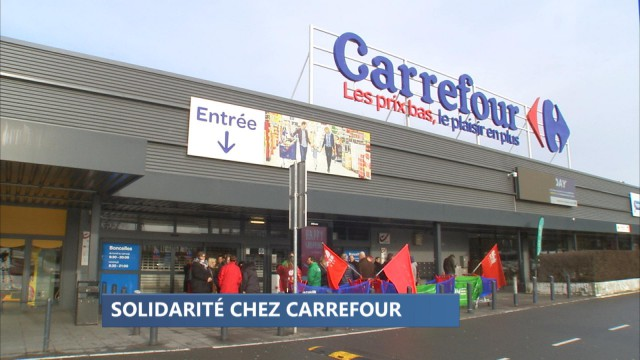 Carrefour : Boncelles solidaire avec Belle-Île