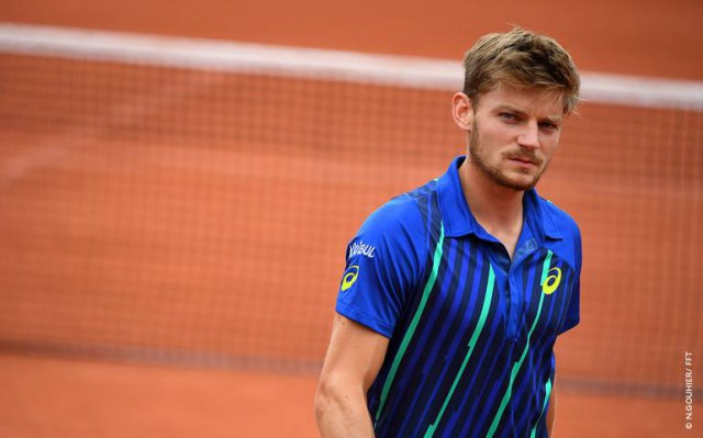 David Goffin innove et diffuse ses matches sur Facebook