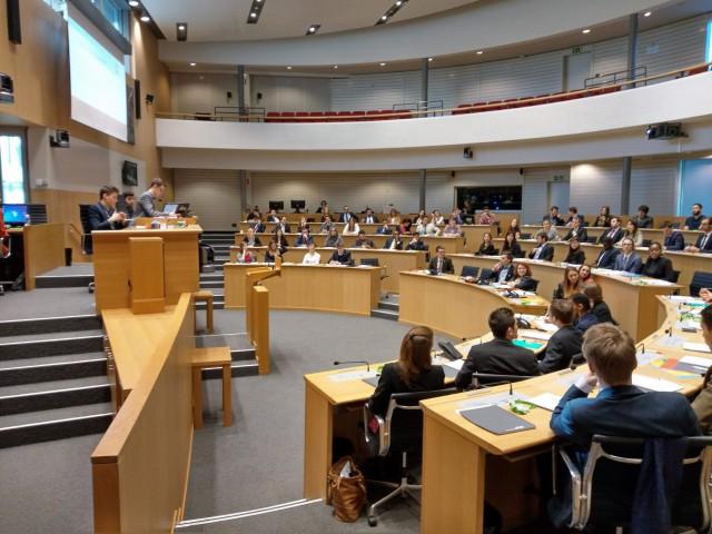 22ème session du Parlement Jeunesse, c'est parti !