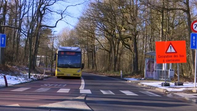 Changement : bus à double-sens dans le domaine du Sart Tilman