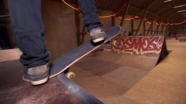 Réouverture du skate park rénové à Aywaille