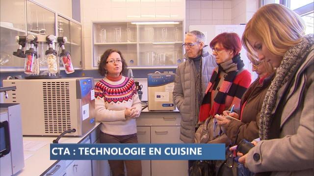 La science côtoie la cuisine au Centre de Technologies Avancées