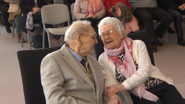 75 ans de vie commune, noces d'albâtre à Grâce-Hollogne.