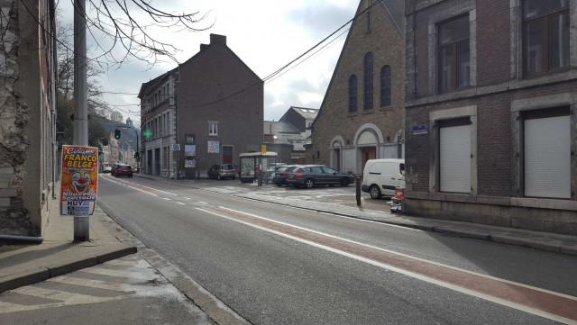 Huy : rénovation urbaine à Statte