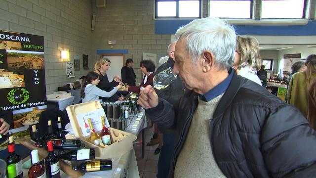 Salon du vin de Beaufays: en toute convivialité!