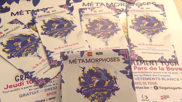 Métamorphoses, 50 spectacles gratuits