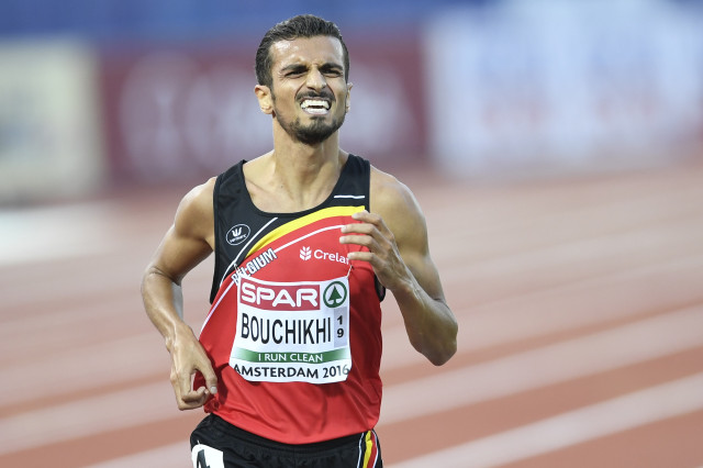 Bouchikhi, Européen le plus rapide sur 10 000 mètres