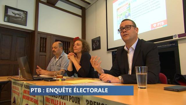 Communales 2018 : le PTB-Liège a mené l'enquête